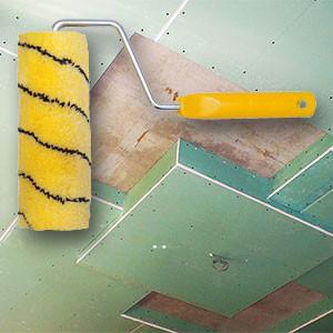 Грунтовать стены или потолок из гипсокартона перед шпаклёвкой своими руками