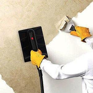 Снять виниловые обои со стен или потолка своими руками