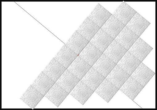 клеить потолочную плитку из пенополистирола своими руками